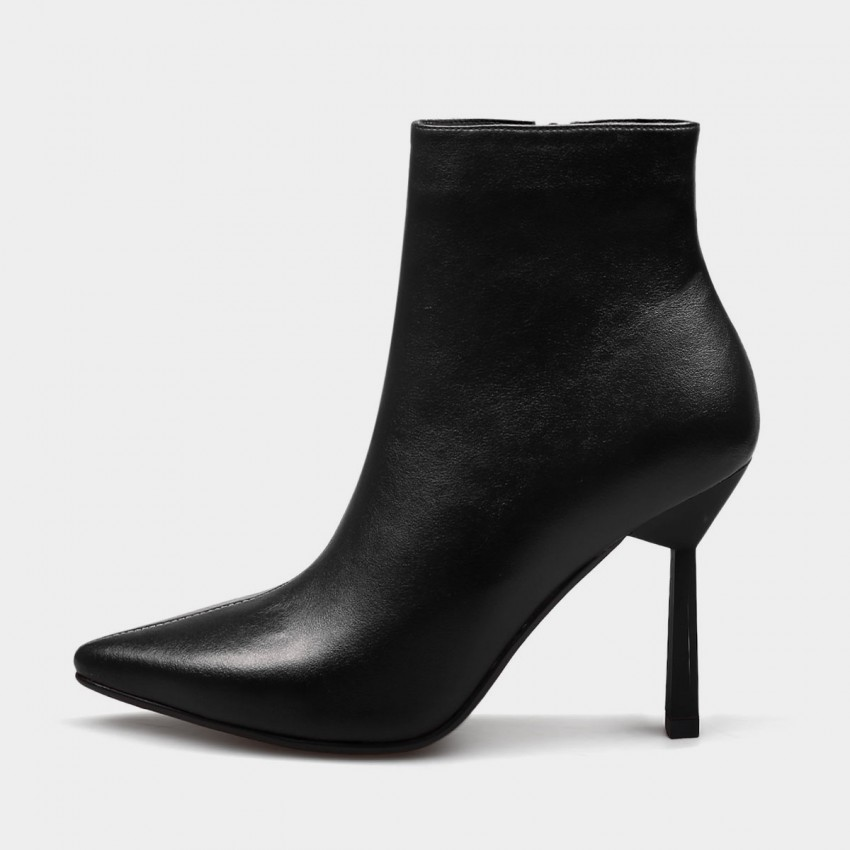 Buy Jady Rose Genuine Delicacy Stiletto High Heeled Black Boots online, shop Jady Rose with free shipping