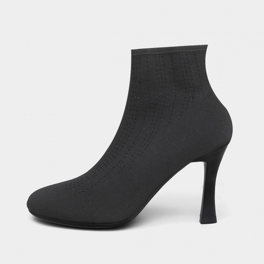 Buy Jady Rose Stitched Black Boots online, shop Jady Rose with free shipping