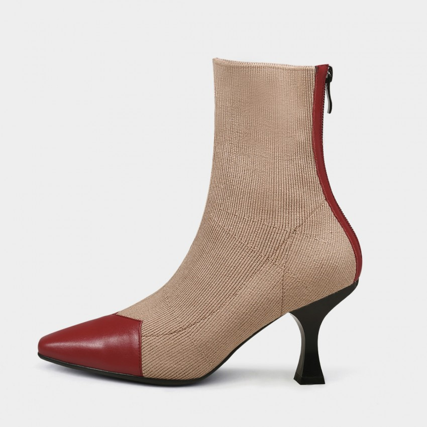 Buy Jady Rose Two-Tone Brown Boots online, shop Jady Rose with free shipping