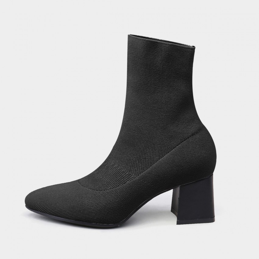 Buy Jady Rose Sock Black Boots online, shop Jady Rose with free shipping