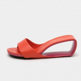 Jady Rose Captivating Coral Mid Wedges (19DR10630)