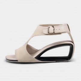 Jady Rose Ana Apricot Buckle Sandals (19DR10642)