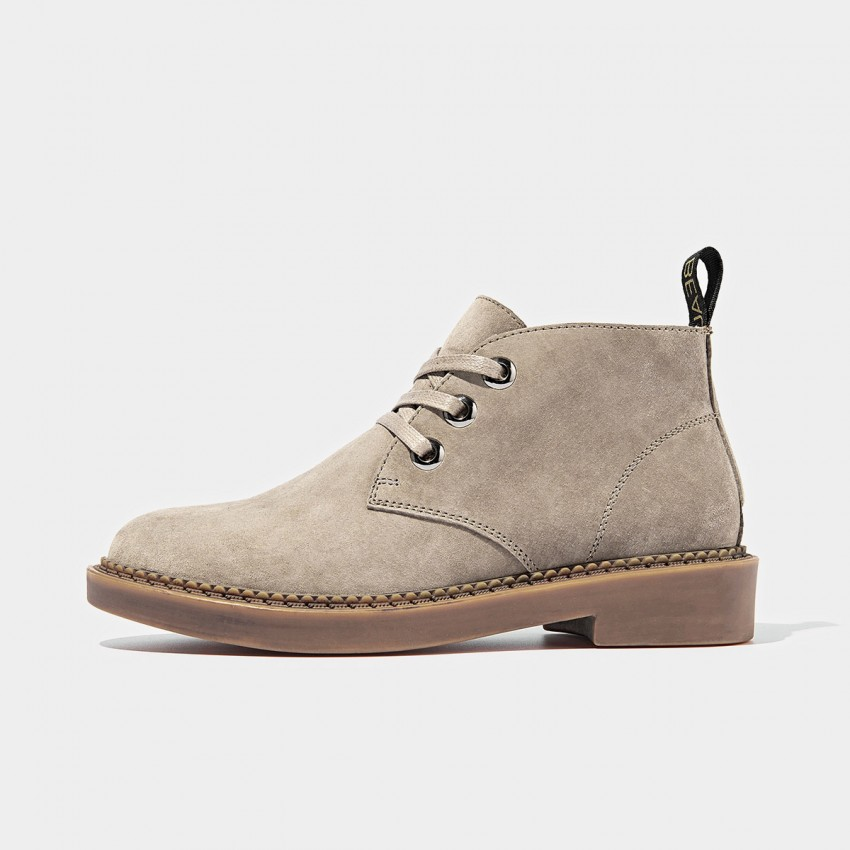 Buy Beau Suede Lace Rubber Sole Tan Boots online, shop Beau with free shipping