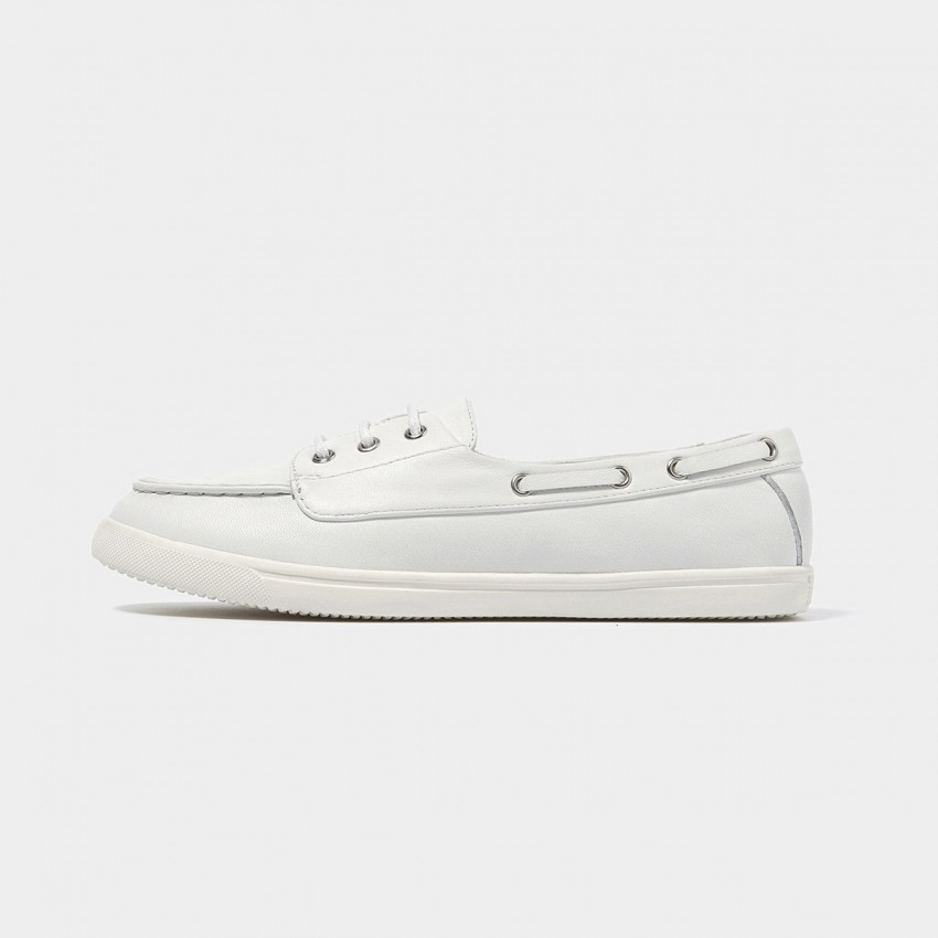 Buy Beau Casual Comfortable White Flats online, shop Beau with free shipping