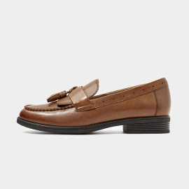 Beau Classic Tassel Brown Loafers (27067)