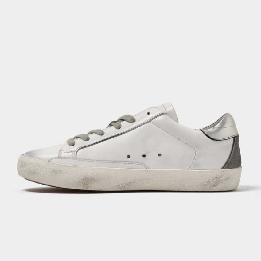Beau Daily Casual Star Grey Sneakers (29030)
