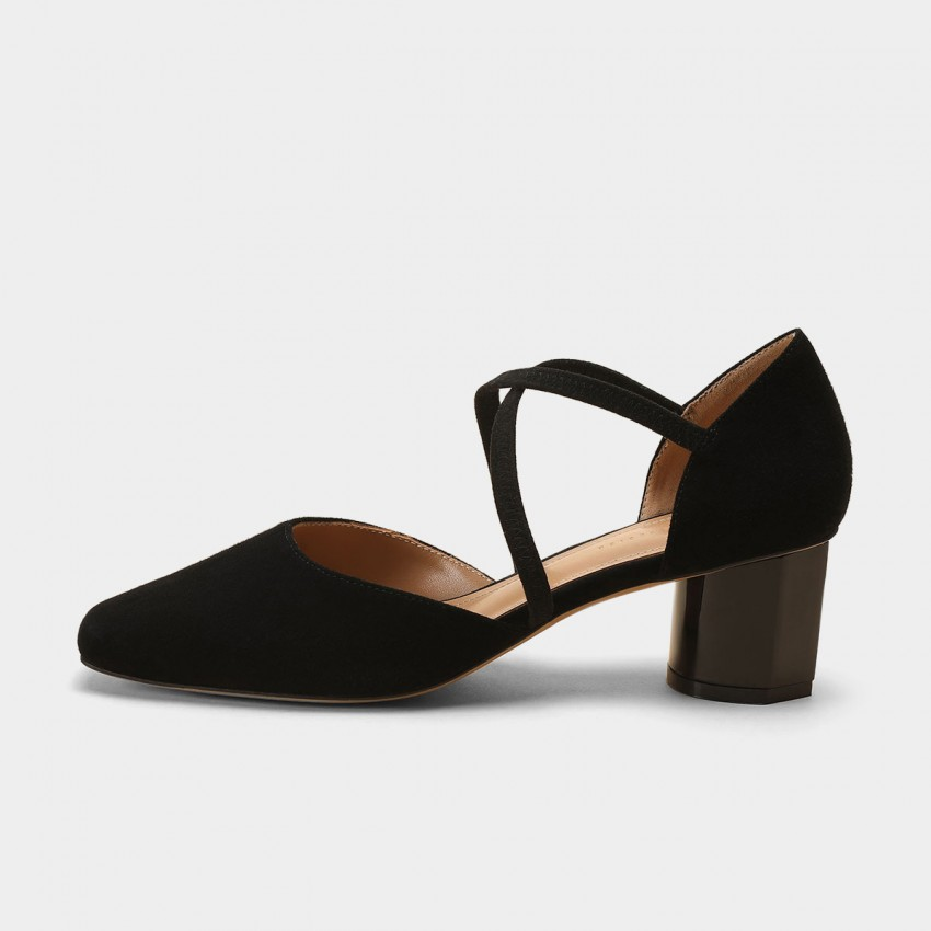 Masoomake Elegant Black Pumps (FSL66001)
