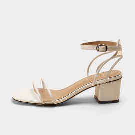 Masoomake White Black Sandals (FSL6A029)