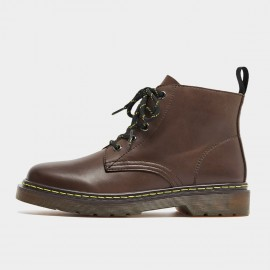 Beau Calf Leather Mid-Top Brown Boots (03419)