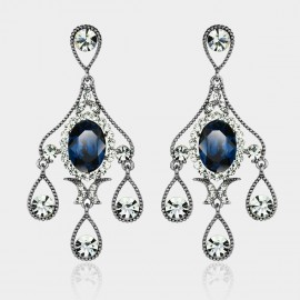 Caromay Rain Screen Sapphire Earrings (E0077)