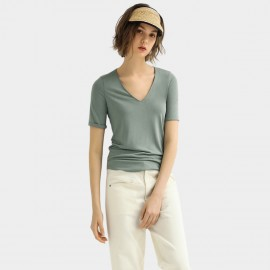 Cocobella Weightless Fitted Green Tee (TE787)