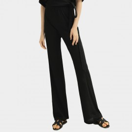 Cocobella Flared Pure Black Pants (PT604)