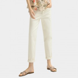 Cocobella Plain Straight White Pants (PT602)