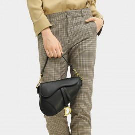 Cocobella Ankle Length Checked Khaki Pants (PT581)
