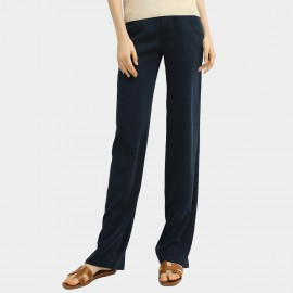 Cocobella Straight High-Rise Navy Pants (PT573)