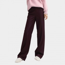 Cocobella Casual Wide-Leg Wine Pants (PT551)