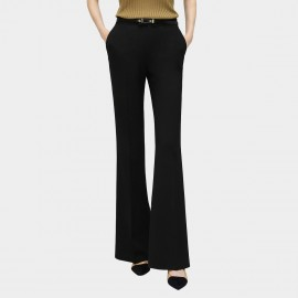 Cocobella Curved Bootcut Black Pants (PT545)
