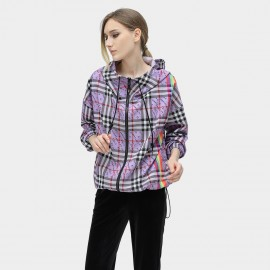 Cocobella Check Purple Jacket (CT801)