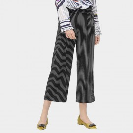 Cocobella Striped Black Culotte Pants (PT439)