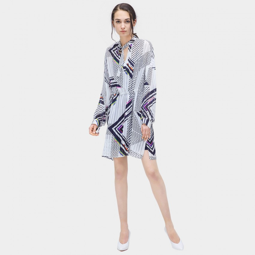 Buy Cocobella Geometrical Stripe Dress online, shop Cocobella with free shipping