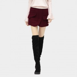 Cocobella Pocketed Wine Skirt (DS776)