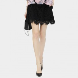 Cocobella Scalloped Lace Black Skirt (DS645)