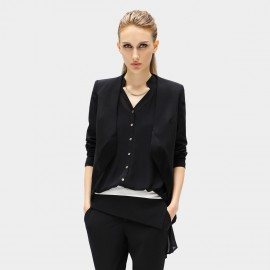Cocobella Collarless Black Jacket (CT103)