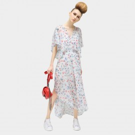 Cocobella Batwing Sleeved Floral Maxi Dress (DS367)