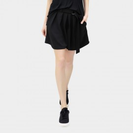 Cocobella Swing Culotte Plain Black Shorts (PT198)