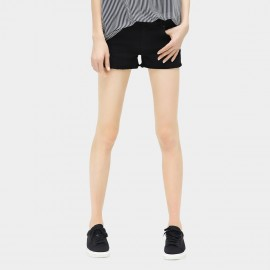 Cocobella Simple Hot Black Shorts (PT213)