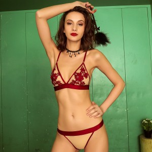 Kngxuea Sexy Red Set (6122)