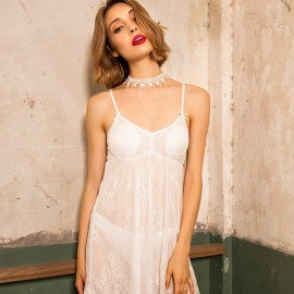 Kngxuea Feather White Slip (6641)
