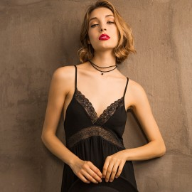 Kngxuea Fresh Black Slip (6806)