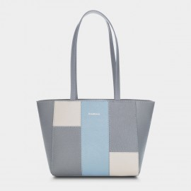 Dreabassa Square Layout Grey Tote (DR161)