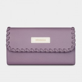 Dreabassa Crafted Style Purple Wallet (DR95)