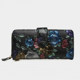 Deere & Jack Secret Garden Graphic Printed Floral Wallet (DJ10135)