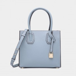 Cilela Clean-Lined Blue Tote (1618L)