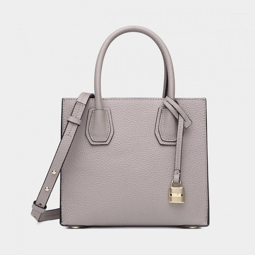 Cilela Clean-Lined Large Grey Tote (1618L)