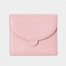 Startown Sweet Stitching Design Short Pink Wallet (LD2157)