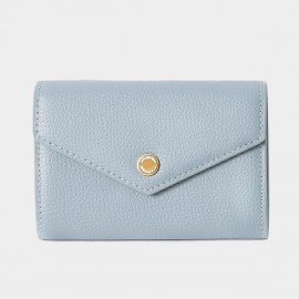Startown Double Color For Cards Blue Wallet (LD2158)