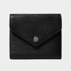 Startown Square Envelope Black Wallet (LD2160)
