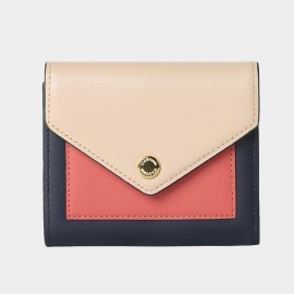 Startown Triple Color Envelope Short Peach Wallet (LD2163)
