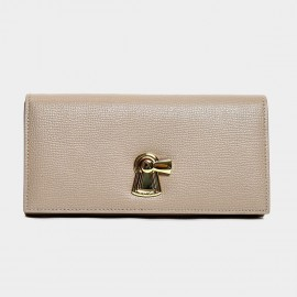 Startown Keylock Long Khaki Wallet (LD3671)