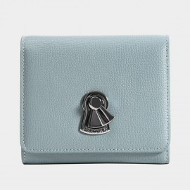 Startown Keylock Short Blue Wallet (LD3673)