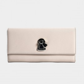 Startown Keylock Extralong Zipper Nude Wallet (LD3722)