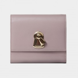 Startown Keylock Long Zipper Lilac Wallet (LD3732)