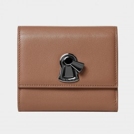 Startown Keylock Long Zipper Brown Wallet (LD3732)