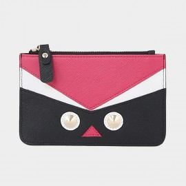 Startown Robot Face Extra Thin Black Wallet (QT0212)