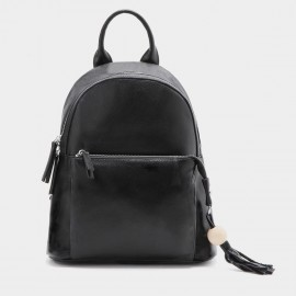 Startown Fringy Keychain Black Backpack (QT0966)