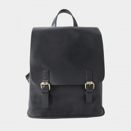 Starttown Belty Black Backpack (QT0967)